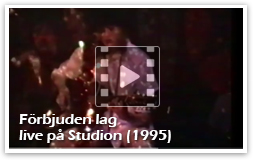 iodine Jupiter - Förbjuden lag, live på Studion (1995)