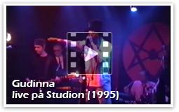 iodine Jupiter - Gudinna, live på Studion (1995)