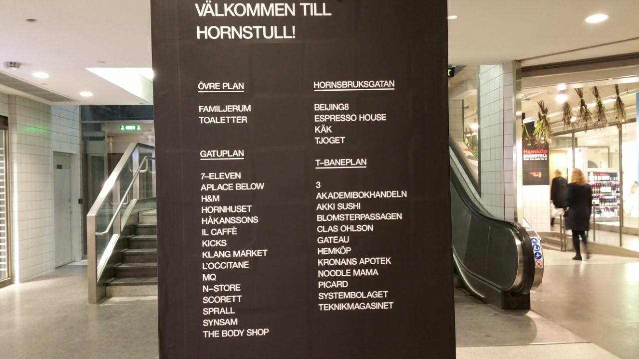 gallerian i h-tull