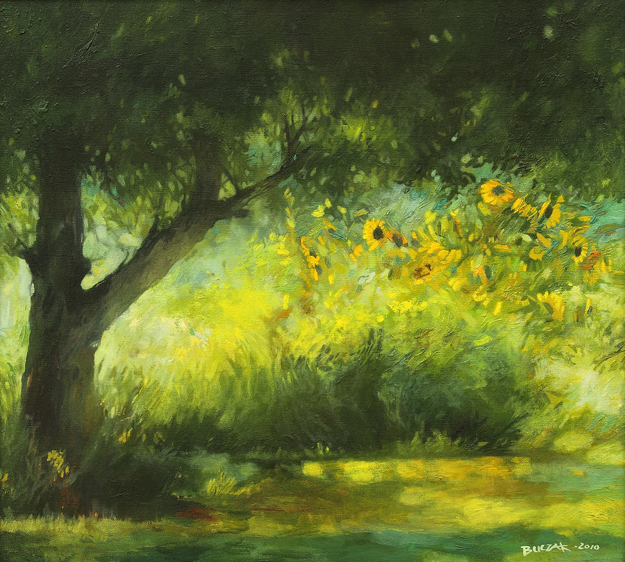 målad skog 2